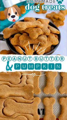 Puppy Treats, Diy Dog Treats, Homemade Dog Treats, Dog Biscuit Recipes, Dog Treat Recipes, Dog Food Recipes, Dog Cookies, Dog Biscuits, Dog Snacks