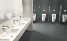You can design your bathroom to your own individual taste with puristic variety in the Architectura collection from Villeroy & Boch ▶ Be inspired now! Duravit, Washroom, Bathroom Furniture, Decoration, My House, Sink, Bathtub, Mirror, Interior Design