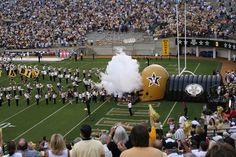 #ridecolorfully    Vanderbilt Football game