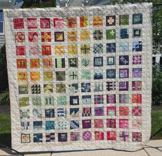 Quilting Rage: Tula Pink City Sampler Gridlock Finished Quilt!