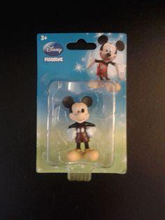 Mickey Mouse Mini Figurine Cake Topper  2.75 in