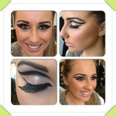 Em - fashion makeup assessment - eye of Horus style!