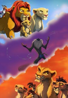 lion king of the forest story