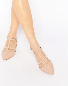 Carvela Mixx T Bar Flat Shoes