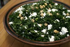 Kale and Chickpea Salad (That Actually Tastes Good)