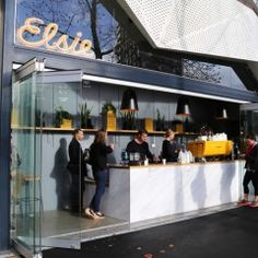 New Opening: Elsie - There's a new girl in town helping to warm and waken those uptown. Best Coffee, Auckland, New Zealand, Cafe Interiors, Restaurant, Warm, Breeze, Places, Diner Restaurant