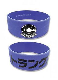Dragon Ball Z Wristband - Capsule Corp / Trunks Katakana