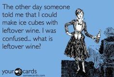 Leftover Wine???