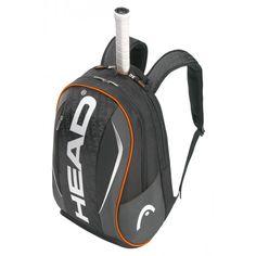 De Tour Team backpack van #Head is een handige #tennistas die als rugzak wordt gedragen.