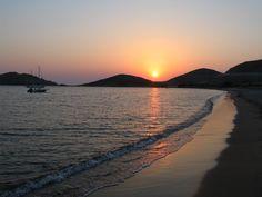 plati beach,Limnos island, Greece