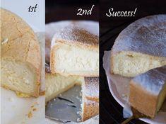 Pasticceria Papa Inspired Baked Ricotta Cheesecake