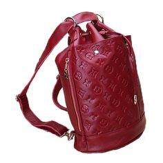 Marca de moda de cuero repujado mochilas bolso del cubo popular para los viajes [AL93071] - €63.62 : bzbolsos.com, comprar bolsos online