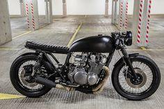 handmademotorcycle: Suzuki GS 750 Cafe Racer von Robinsons's Speed Shop