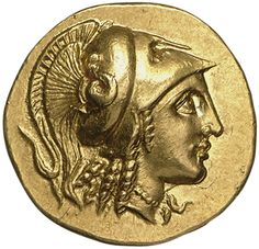 Tras la conquista del Imperio persa, Alejandro quiso ampliar el dominio macedonio llegando hasta la India. Abajo, moneda con efigie del rey macedonio. Museos Estatales, Berlín.