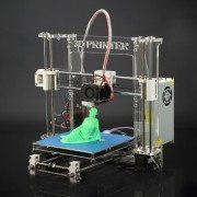 Z605 3D Printer Desktop Printer High Precision Acrylic Frame Three-Dimensional Physical Printer (Using 1.75mm Printing Supplies)