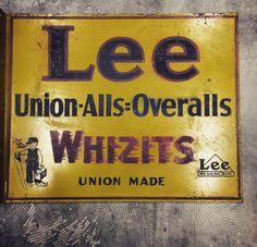 Old before my time Union Made, Lee Jeans, Overalls, Design Inspiration, Vintage, Workwear, Corner, Denim, Blog