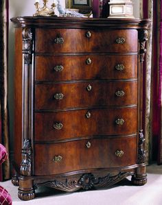 edwardian five drawer chest by pulaski furniture antique pulaski apothecary style