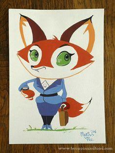 Terrapin and Toad: Sketchbook doodles - Fox. #terrapinandtoad