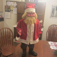 Antique Christmas, Christmas Items, Santa Claus Is Coming To Town, My Teddy Bear, Candy Containers, Holiday Postcards, Vintage Santas, Father Christmas, Paper Mache