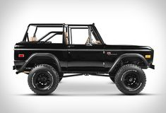 Another gem by Classic Ford Broncos, a US company that specializes in restoring early model Ford Broncos. They hand-build only a small volume of Broncos each year, using only the best, original Ford Bronco bodies, and top of the line components. In