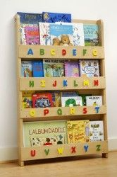 Tidy Books – The Children's Bookcase Company – The Original Childrens Bookcase and Book Display with Alphabet in Natural Capital Childrens Bookcase, Kids Bookcase, Bookshelves, Tidy Books, 3d Alphabet, Toy Chest, Playroom, Things That Bounce, Beautiful Homes