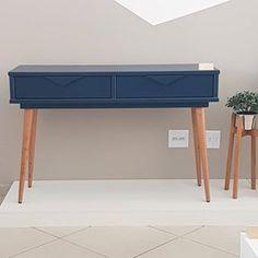 Olha que tom de azul incrível do nosso aparador retrô 🤩. . Compre agora mesmo pelo site ou visite nosso show room em Pedreira. . #aparador #pepalito #aparadorazul #azul #madeira #laca #aparadorretro #retro #decor #sala #moveis #furniture #cool #design #aprimoredecor Chair Side Table, Woodworking Furniture, Chalk Paint, My House, Ikea, Entryway, Living Room, Interior Design, Antiques