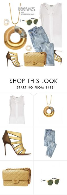 """""""TADAMSHOP.com"""" by monmondefou ❤ liked on Polyvore featuring Christian Louboutin, Wrap, Chanel, Linda Farrow and tadamshop"""