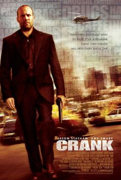 Crank - the movie about adrenaline addicted serial killer Film Movie, Film D'action, Bon Film, Jason Statham Movies, Top Movies, Great Movies, Movies To Watch, Awesome Movies, Los Angeles