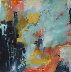 "'Mrs D' | Eileen Power, acrylic - 30"" x 30"""