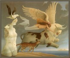 Europa and Zeus by Michael Parkes