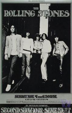 Rolling Stones at Oakland Coliseum 11/9/69 by Randy Tuten & Ron Raffaelli