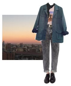 """at given time and place"" by abbydabic ❤ liked on Polyvore featuring Dr. Martens, River Island, HUGO, AllSaints, casual, simple and city"