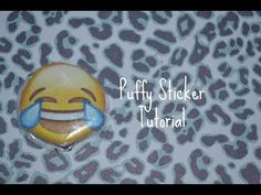 DIY: How To Make Puffy Stickers - YouTube