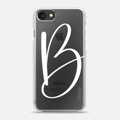 MONOGRAM B // PHONE CASE // @PRETTYININKSHOP