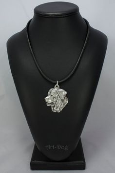 Tosa Inu dog necklace limited edition ArtDog by ArtDogshopcenter