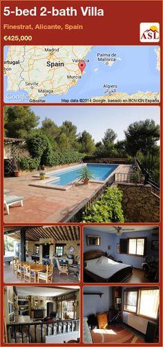5-bed 2-bath Villa in Finestrat, Alicante, Spain ►€425,000 #PropertyForSaleInSpain