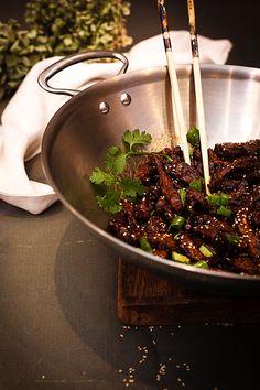Wine Recipes, Asian Recipes, Banana Colada, Yami Yami, China Food, Wok, I Love Food, Healthy Cooking, Tapas