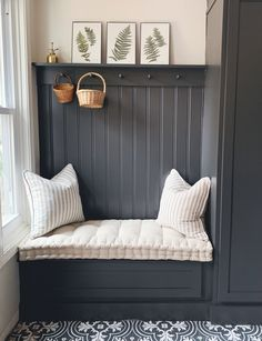 Tips for Board & Batten in the Dining Room Boot Room Utility, Utility Room Designs, Hallway Designs, Hallway Storage, Board And Batten, Mudroom, Room Inspiration, Home Remodeling, Family Room