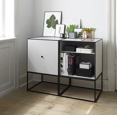 Copenhagen based brand by Lassen used a Mogens Lassen sketch from 1943 as inspiration for Frame, a flexible storage collection of square boxes in cubic frames. The flexible modules can be wall hung, joined, stacked, or stand alone. Use the stylish range toorganiseand display your belongings next to the sofa, the bed, or as a…