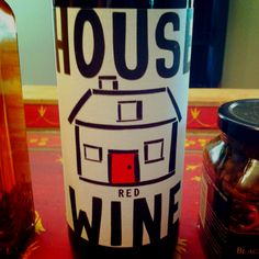 """""""House"""" Red Wine for a housewarming gift basket"""