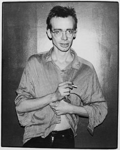 "The proud inventor of skronk: Arto Lindsay (DNA) (Photo by Marcia Resnick) From the book ""No Wave"" by Thurston Moore and Byron Coley"