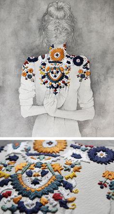 Dibujar y coser… Izziyana Suhaim Más