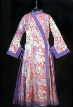 Dressing gown, Paul Poiret, fabric designed by  Raoul Dufy, 1924