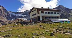 RIFUGIO BIGNAMI - Situato a 2385 m su un promontorio affacciato sul lago artificiale di Gera alla testata della Valle di Campo Moro e all`imbocco della Val Fellaria.
