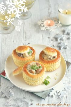 vol au vent tofu fumé, chataignes et champignons #vegan #noel #veggie http://www.la-gourmandise-selon-angie.com/archives/2015/12/20/33088307.html
