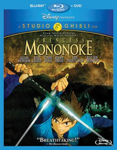 Studio Ghibli and Hayao Miyazaki's famous Princess Mononoke comes to Blu-ray and DVD!  The march of technology, embodied in the dark iron forges of the ambitious Tatara clan, threatens the natural forces explicit in the benevolent Great God of the Forest and the wide-eyed, spectral spirits he protects.