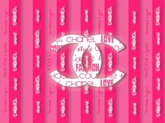 Chanel ~ Rocking it Pink ~ Chanel Background, Chanel Wallpapers, Pretty Phone Wallpaper, Chanel Logo, Coco Chanel, Chanel Couture, Everything Pink, My Favorite Color, Pink Girl