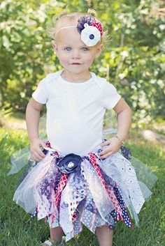 4th of july tutu set!
