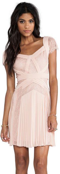 BCBGMAXAZRIA Aris Short Sleeve Dress on shopstyle.com