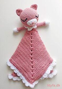 Cute cat security blanket pattern by Lityfa Ravelry: Cute cat security blanket pattern by Lityfa Cute cat security blanket pattern by Lityfa Ravelry: Cute cat security blanket pattern by Lityfa decke tunesisch häkeln Crochet Lovey, Cute Crochet, Baby Blanket Crochet, Crochet For Kids, Crochet Toys, Baby Barn, Dou Dou, Baby Lovey, Lovey Blanket